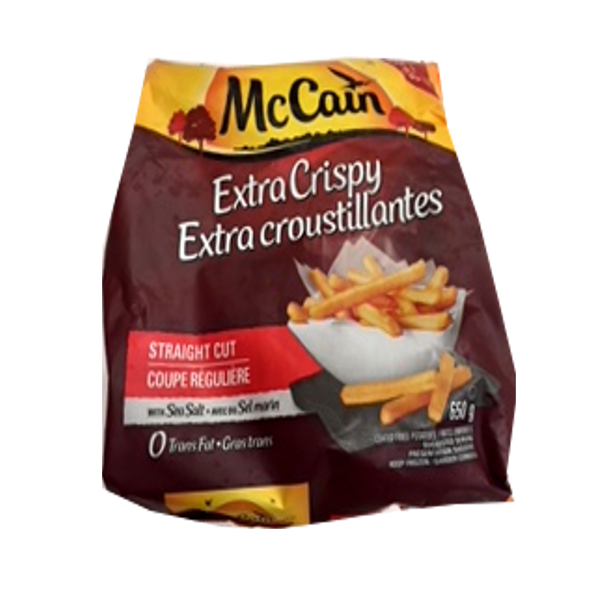 MCCAIN EXTRA CRISPY FRIES STRAIGHT CUT