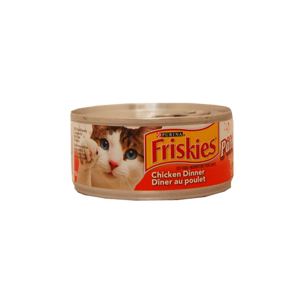Purina Friskies Cat Food - Chicken Dinner Pate