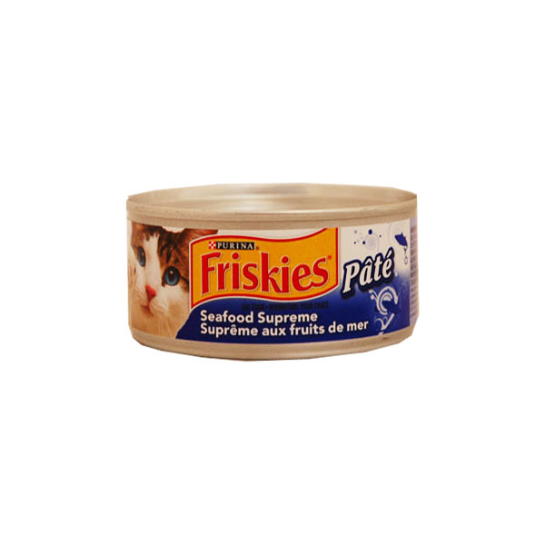 Purina Friskies Cat Food - Seafood Supreme Pate