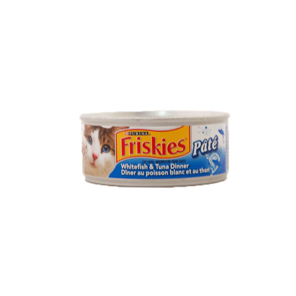 Purina Friskies Cat Food - Whitefish & Tuna