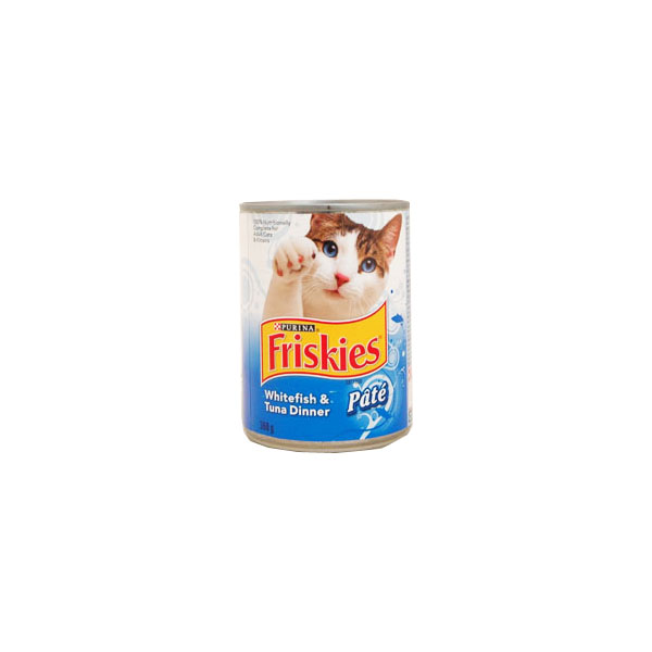 Purina Friskies Whitefish & Tuna Dinner