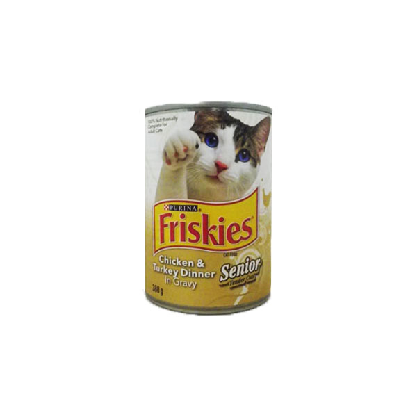 Friskies Chicken and Turkey Dinner