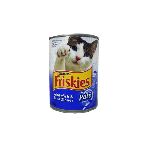 Friskies Whitefish and Tuna Dinner