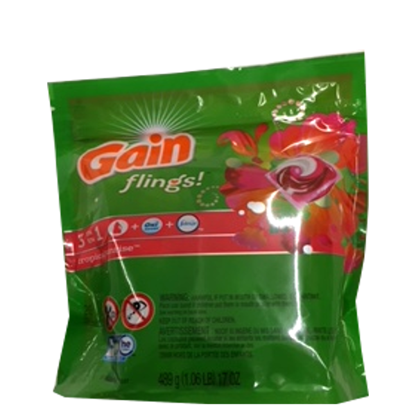 GAIN FLINGS TROPICAL SUNRISE PODS
