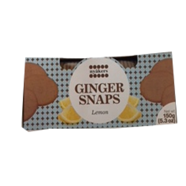 NYAKERS GINGER SNAPS LEMON