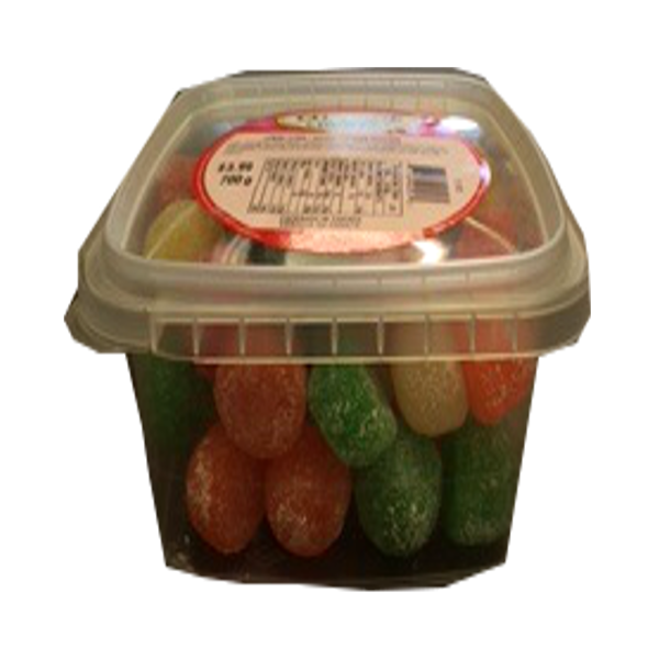 COTTAGE COUNTRY CANDY JUMBO GUMS TUB