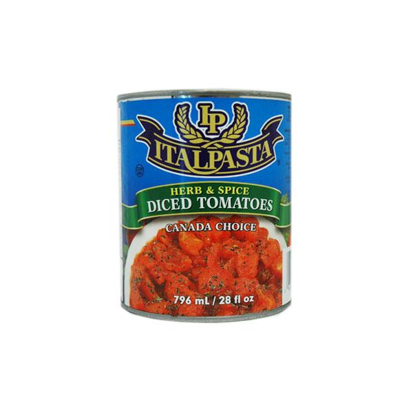 Italpasta Herb & Spice Diced Tomatoes