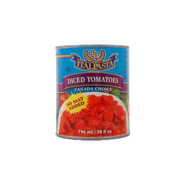 Italpasta Unsalted Diced Tomatoes