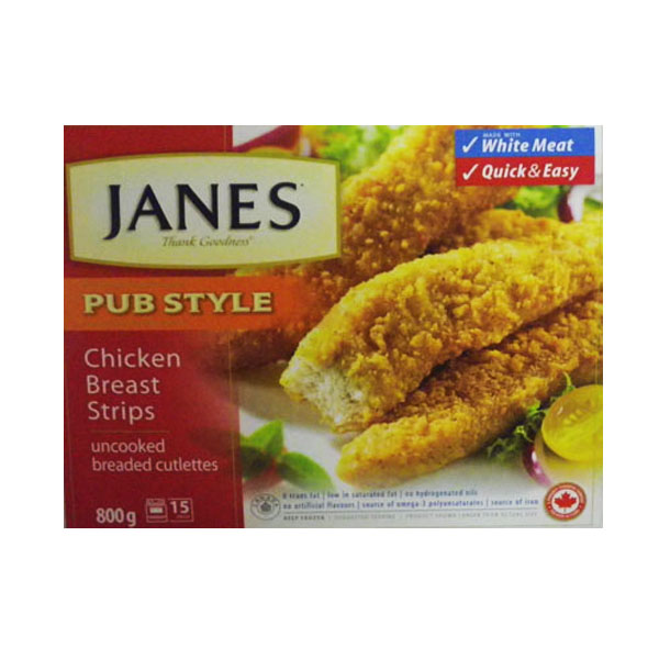 Jane's Chicken Strips