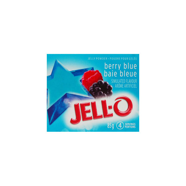 Jello - Blueberry Mix