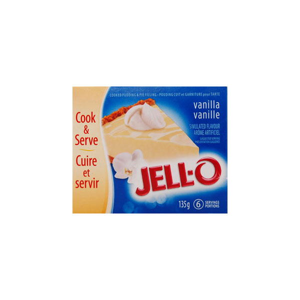 Jello Vanilla Pie Filling