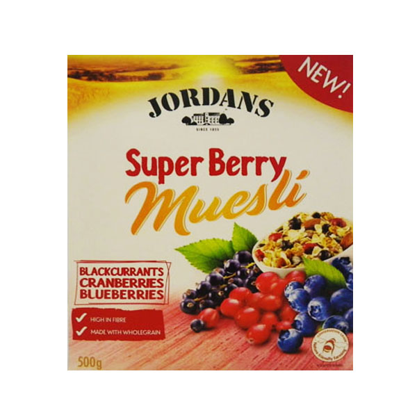 Jordan Super Berry Muesli