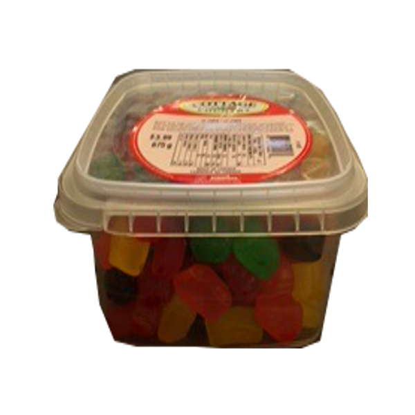 COTTAGE COUNTRY CANDY JU JUBES TUB