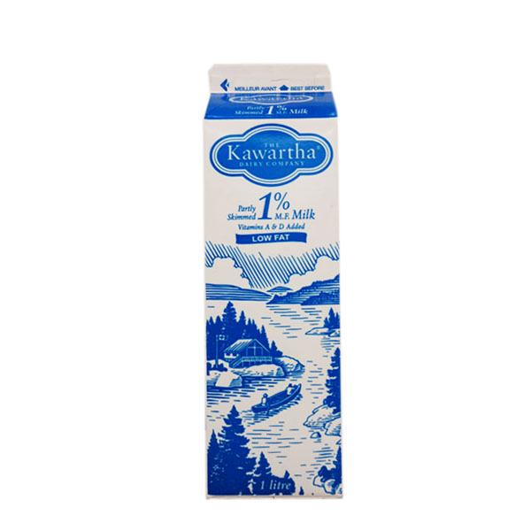 Kawartha Dairy 1% Milk - 1L