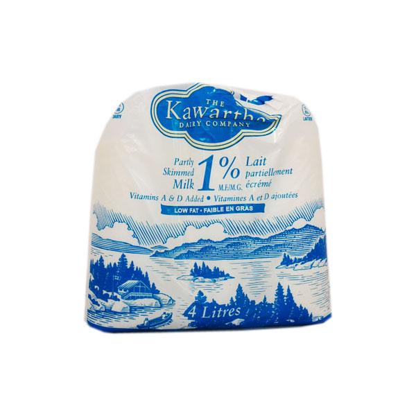 Kawartha Dairy 1% Milk - 4L Bags