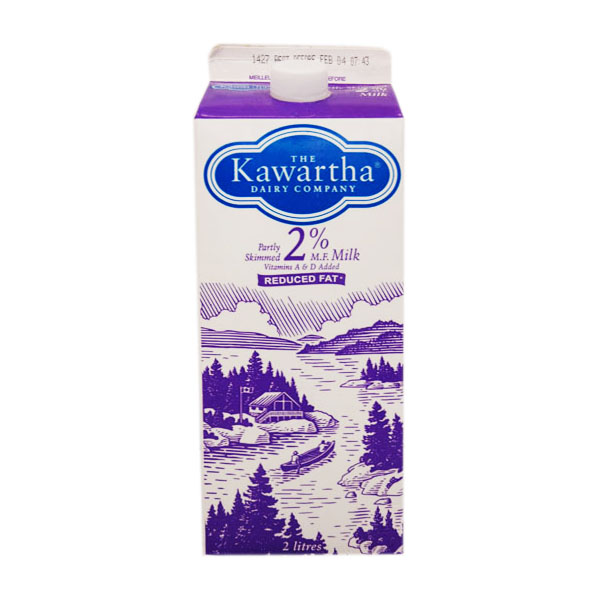 Kawartha Dairy 2% Milk - 2L