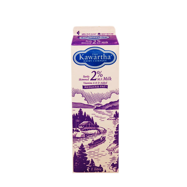 Kawartha Dairy 2% Milk - 1L