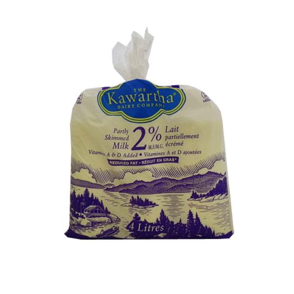 Kawartha Dairy 2% Milk - 4L Bags