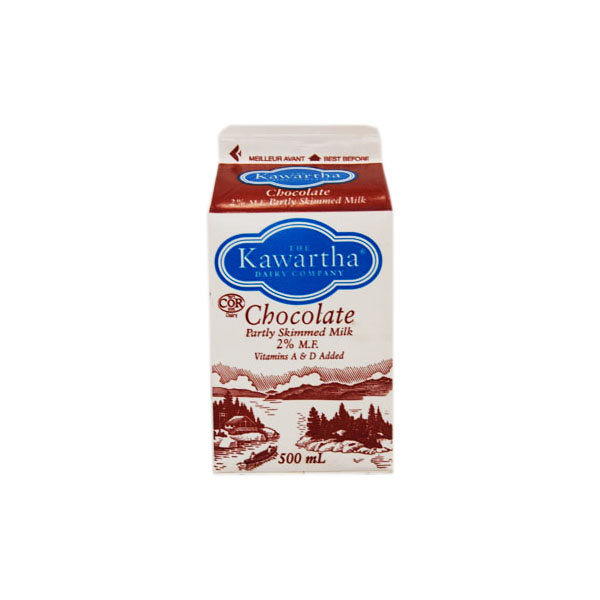 Kawartha Dairy Chocolate Milk - 500 mL