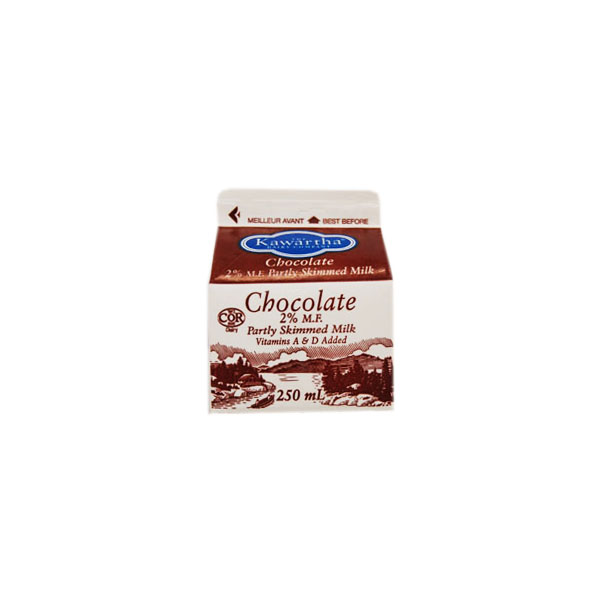Kawartha Dairy Chocolate Milk - 250 mL