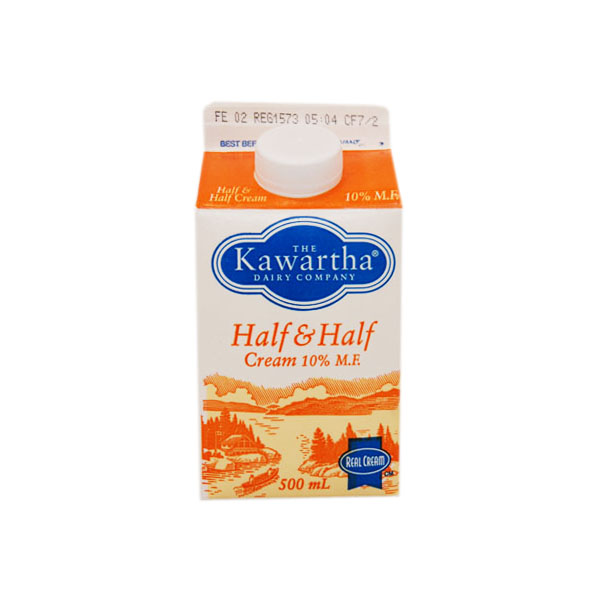 Kawartha Dairy Half & Half Cream - 500 mL