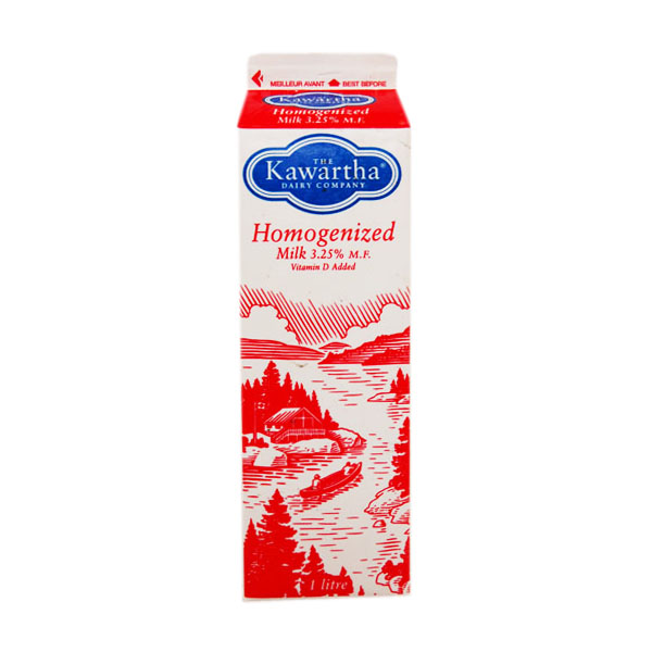 Kawartha Dairy Homogenized Milk - 1L