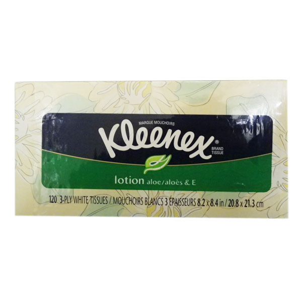 Kleenex with Lotion