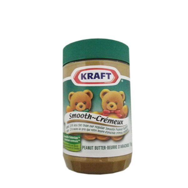 Kraft Smooth Peanut Butter - 25% less fat