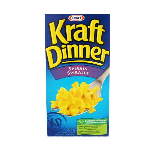 Kraft Dinner Spirals