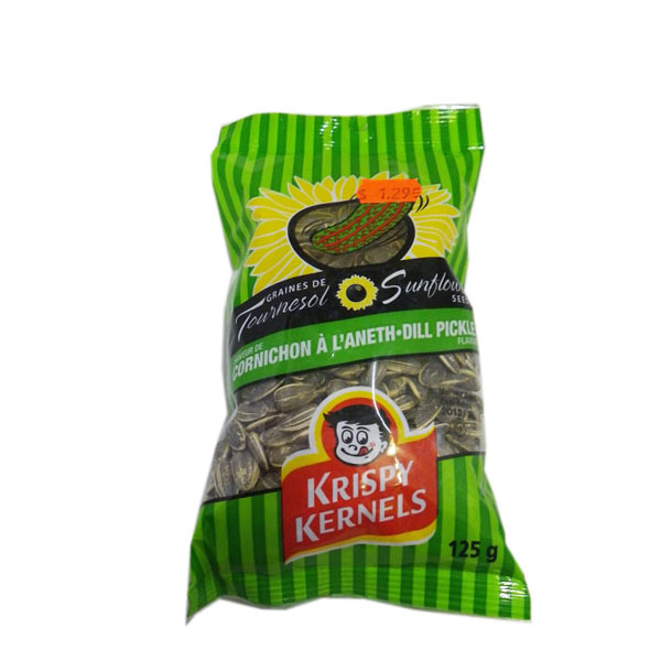 Krispy Kernels Dill Pickle Sunflower Seeds