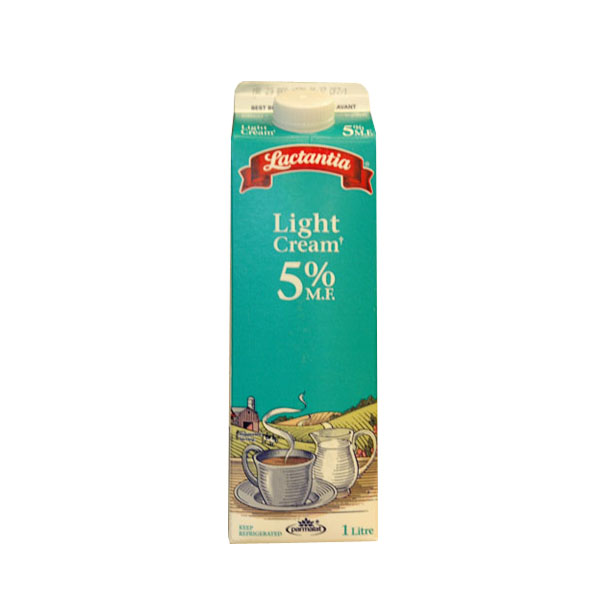 Lactantia Light Cream - 1L