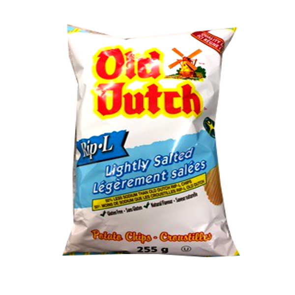 OLD DUTCH LIGHTLY SALTED