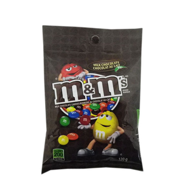M&M milk chocolate candies