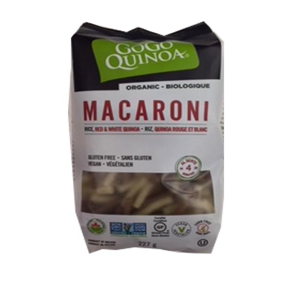 GOGO QUINOA MACARONI 227G