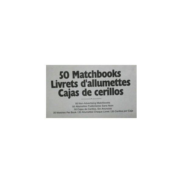 Book of Matches - 50 pack