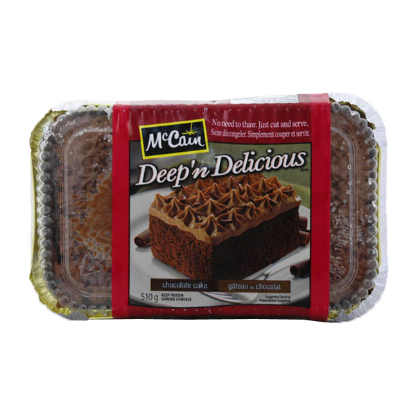 McCain Deep N Delicious Chocolate Cake