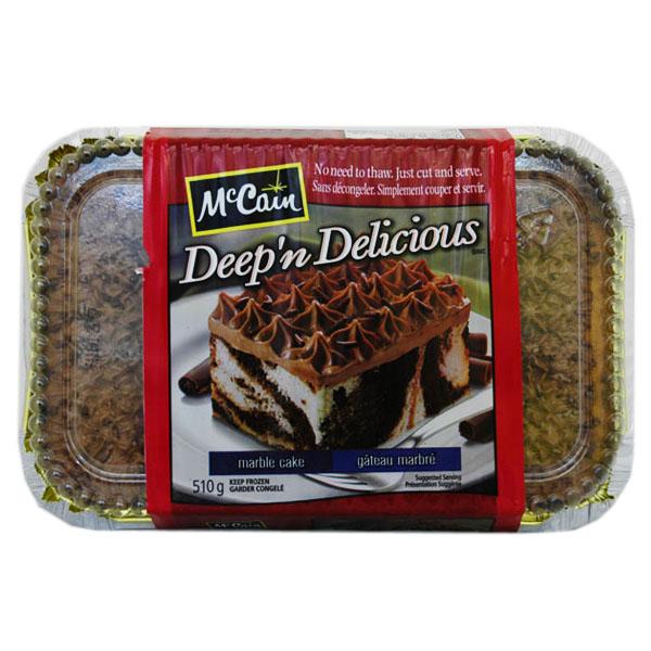 McCain Deep N Delicious Marble Cake