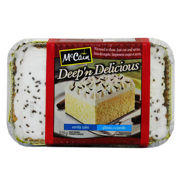McCain Deep N Delicious Vanilla Cake
