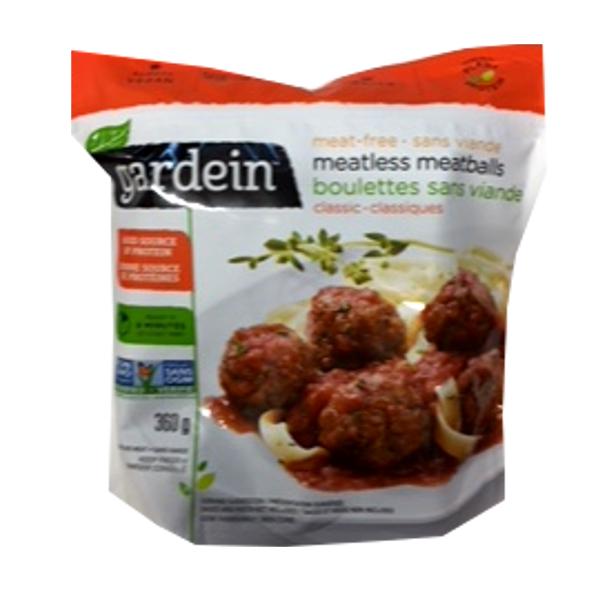 GARDEIN MEAT FREE MEATLESS MEATBALLS