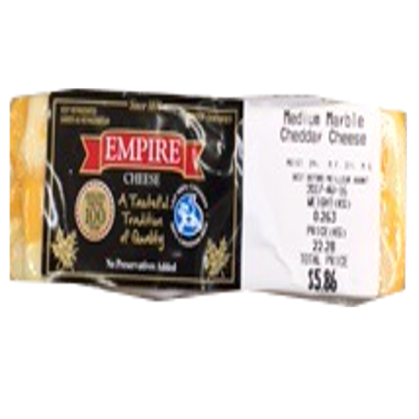 EMPIRE MEDIUM MARBLE8OZ-price by weight
