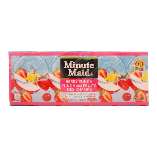 Minute Maid Berry Punch Juice Boxes