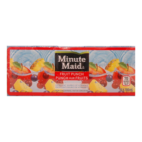Minute Maid Fruit Punch Juice Boxes