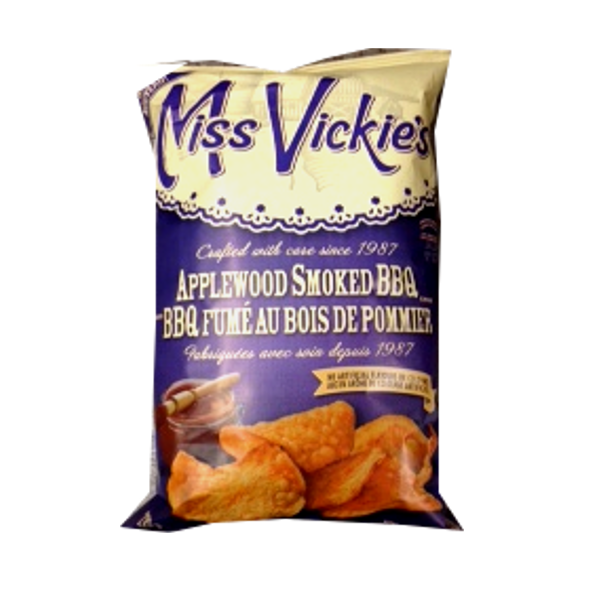 MISS VICKIES APPLEWOOD SMOKED BBQ 220G