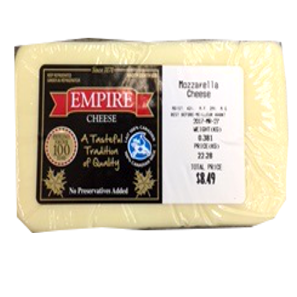 EMPIRE MOZZARELLA 12OZ-pricing varies by weight
