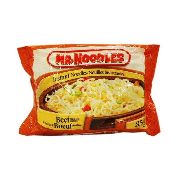 Mr. Noodles Beef Soup