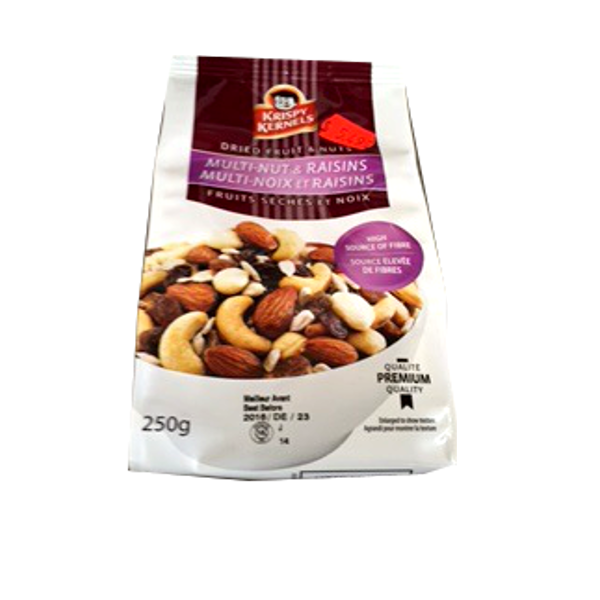 KRISPY KERNELS MULTI NUT RAISIN