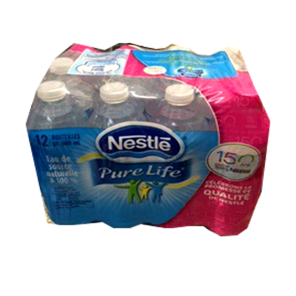 NESTLE WATER 12 PACK