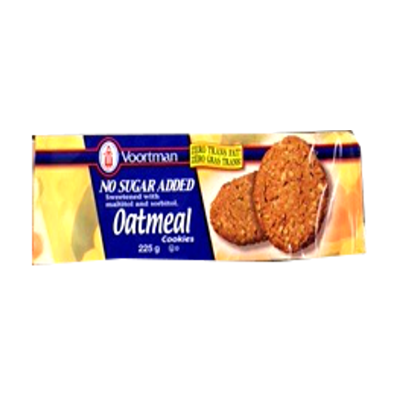Voortman Oatmeal Cookies No Sugar Added