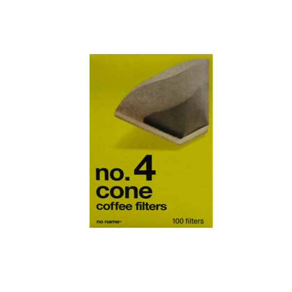 No Name No.4 Cone Coffee Filters