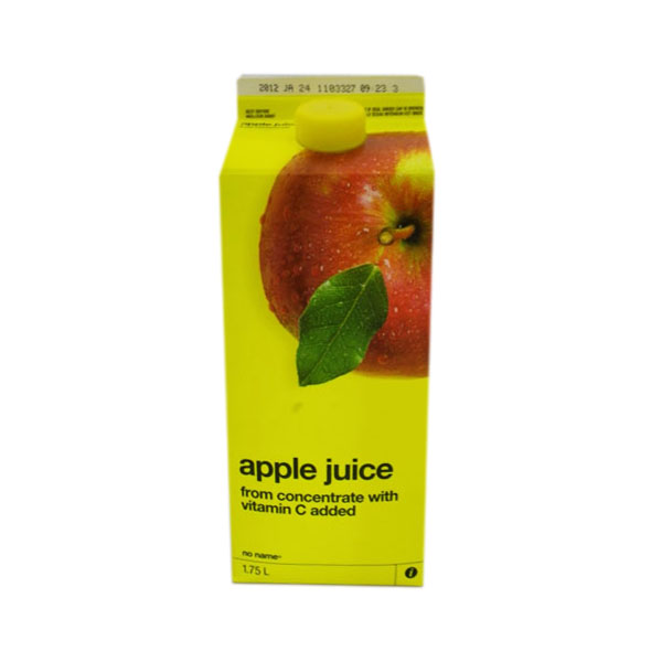No Name Apple Juice - 1.75L